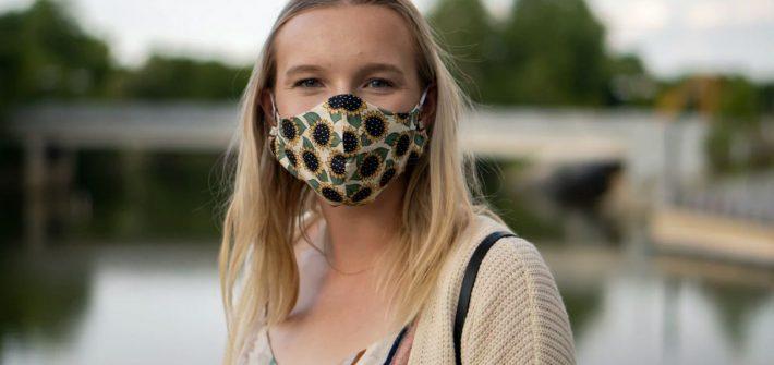 etui personnalisé pour masque-covid