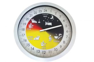 horloge senior